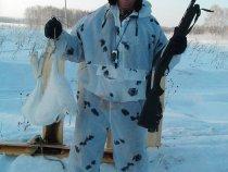 Дали стоеджеру на наш русский мужской праздник почувствовать вкус к охоте...