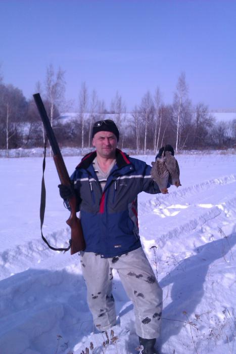 Закрытие зимней охоты. Куропатки.