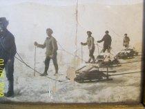Охота на нерпу на Байкале. Примерно 1935г
