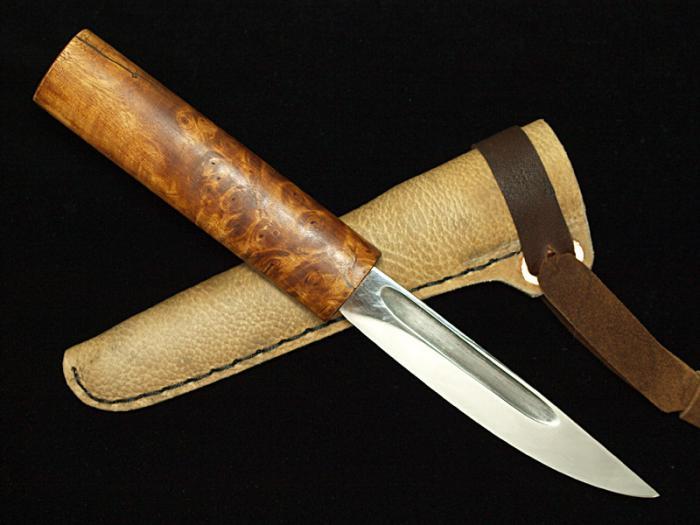 Нож якутский своими руками