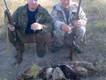 я с другом на охоте на фазана!!!!!