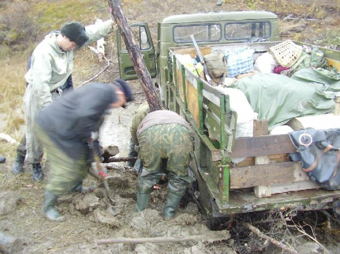 Охота пуще неволи (старый добрый ГАЗ-66)