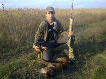 С ягдтерьером по фазану