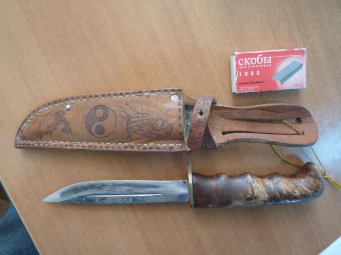 Мой нож