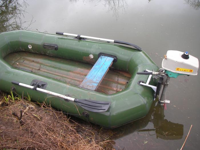 двигатель для моторной лодки салют