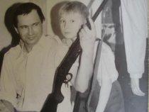 Отец и я, его первое ружье! 1991г.