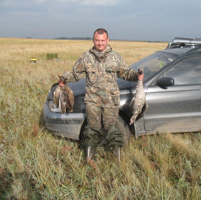 Открытие охоты. Осень 2012.