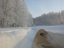 с лыжи)