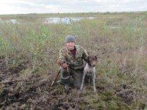 Я и мой друг по охоте с добычей !