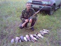 село Ильинка-2006 год,первая охота на утей!