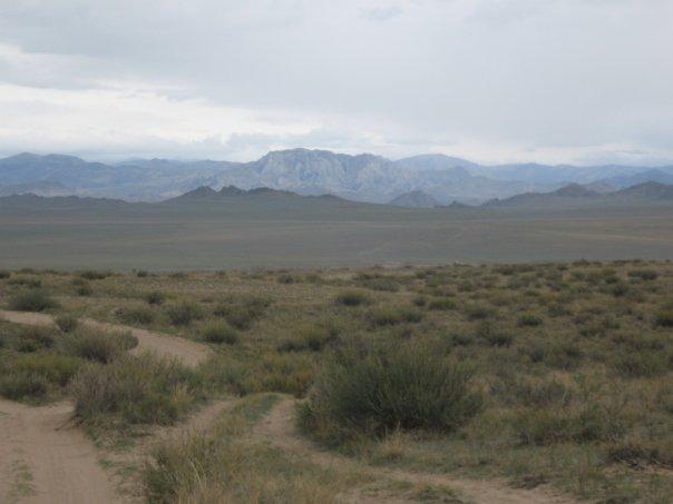 За горой Монголия, юг Тувы