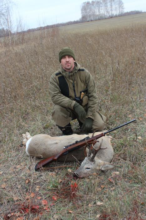 открытие охоты на косулю,