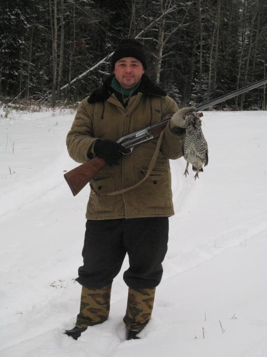 На охоте