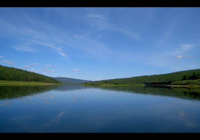 Просторы реки Лены