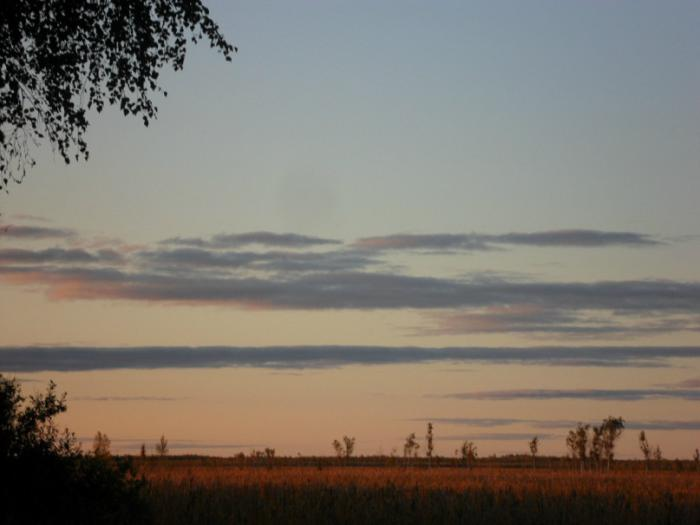 закат в ряму