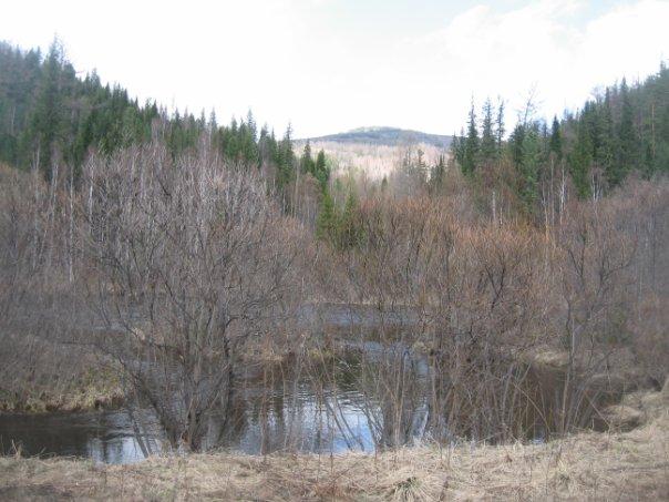Река Мина.
