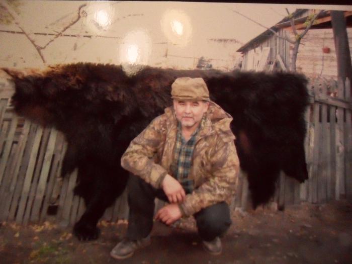 Добыл медведя на соболевке