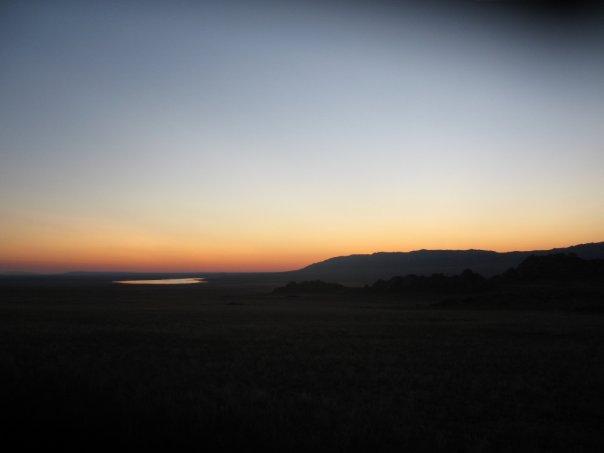 Озеро Шара-Нур юг Руспублики Тува.