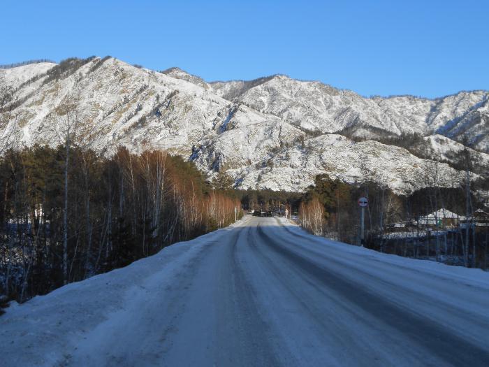 Лучше гор могут быть только новогодние горы...)))