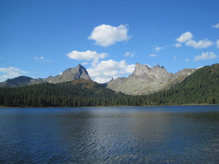 Озеро Светлое, Природный парк Ергаки