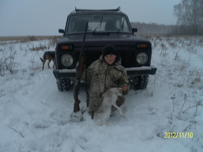 Будущий охотник!!!!!