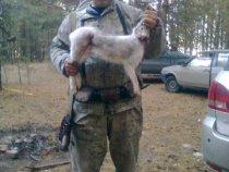 зимнее открытие охоты  01.11.12