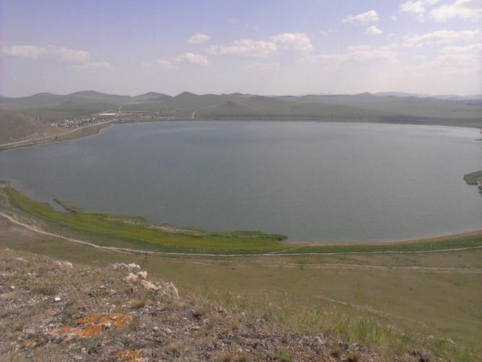 Хакасия, Ширинский район оз. Власьево