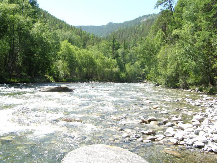река Большие Уры