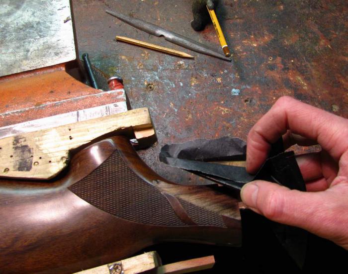 Реставрация приклада для ружья своими руками