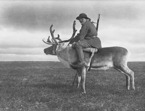 Эвенкийский охотник. Якутия, 1905 г