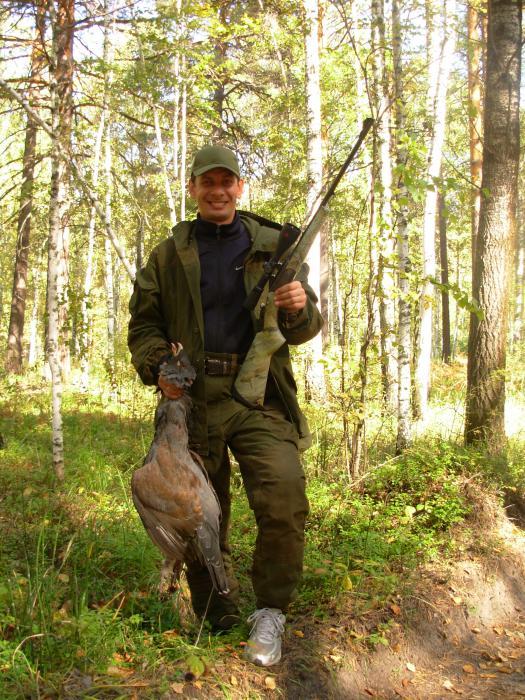 Открытие охоты на глухаря. Осень 2012