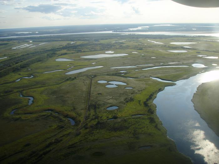 Самый север Томской области