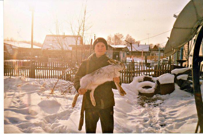 Заяц-русак. 2007 год.