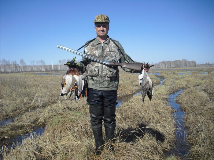 Что еще надо для охотника,ждущего всю зиму весеннего открытия?!