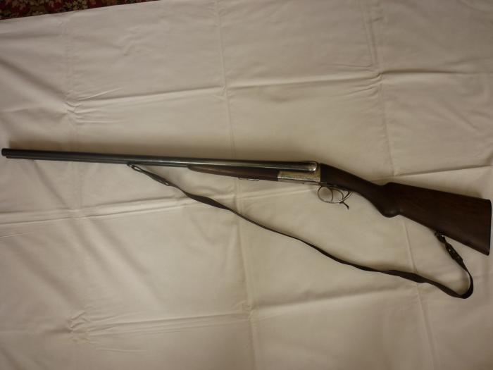manufacture francaise d`armes et cycles de stetienne ideal №308 fusil ideal brevete dans tous les pays    калибр 16