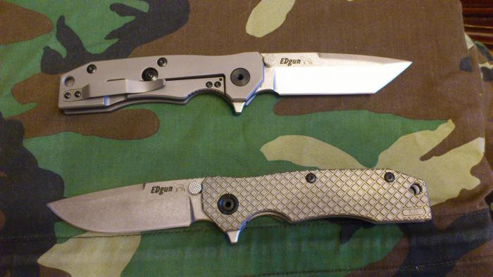 Ножи складни К.О.