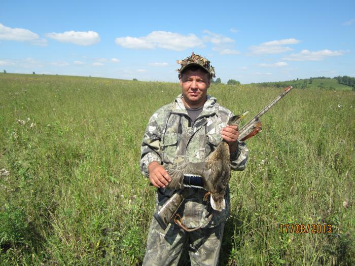открытие охоты на утку