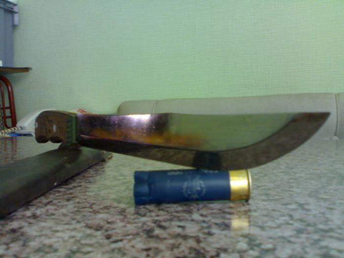 Охотничий разделочный нож