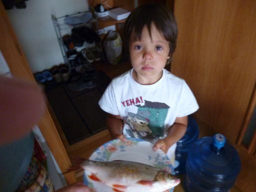 Слеза ребёнка.Дед не взял на рыбалку..