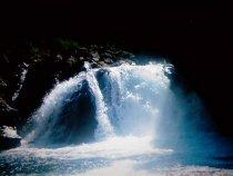Байкал, п.Танхой, водопад на реке Осиновка