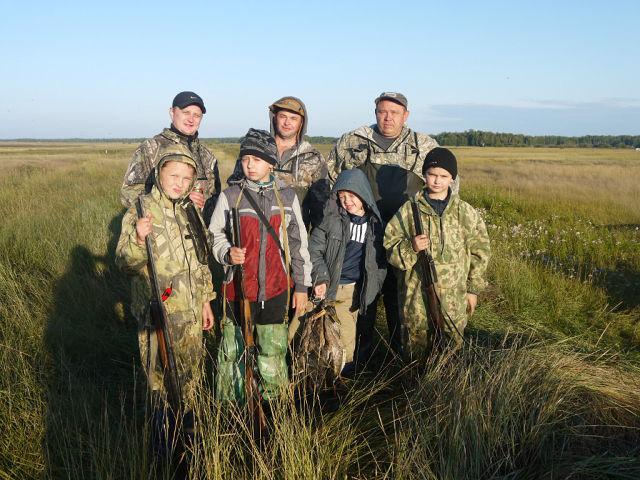 Открытие охоты 2013.