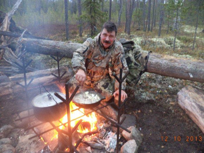 А вечерами из добытого готовили и травили байки