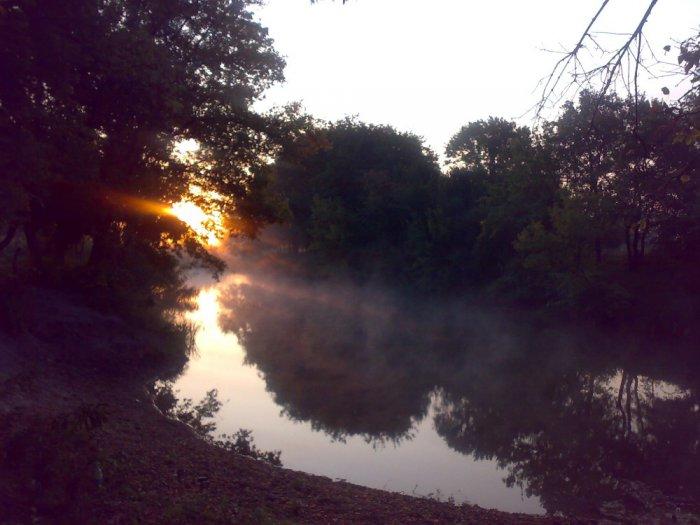 Рассвет на реке Айдар