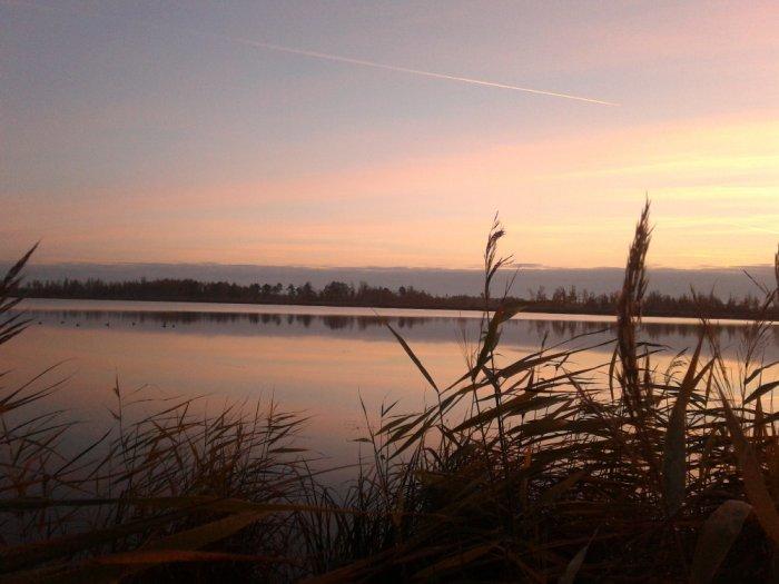 Утренняя зорька.