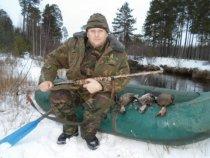Вот и я закрыл сезон осенней охоты 2013г. на утку