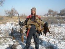 удачный выход на фазана, река ИЛИ
