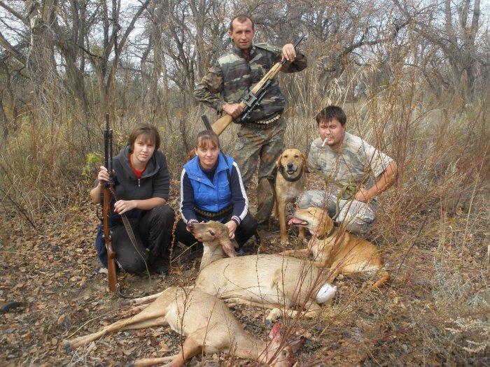 охота в казахстане