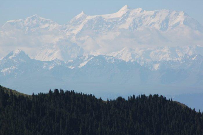 Завораживающая мощь гор