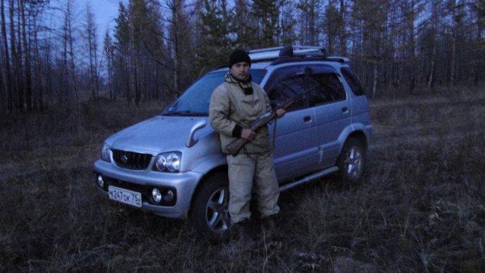 Daihatsu Terios на охоте