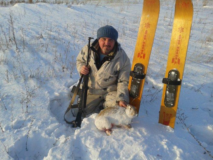 Есть ещё зайчишки в Славгородском районе:-)